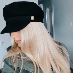Zara Newsboy Hat